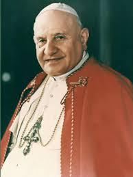 Pope Saint John XXIII portrait